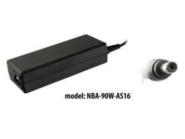 nBase NBA-90W-AS16 90W Asus/Toshiba hálózati töltõ adapter +tápkábel
