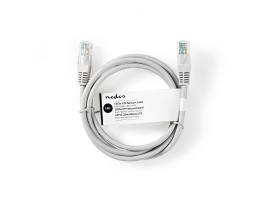 Nedis CAT5e UTP Hálózati Kábel RJ45 1m Szürke (CCGT85100GY10)