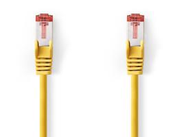 Nedis Cat6 S/FTP Hálózati Kábel RJ45 1m Sárga (CCGP85221YE10)
