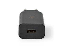 Nedis Fali töltõ 2,1 A 1 kimenet USB-A Fekete (WCHAU212ABK)