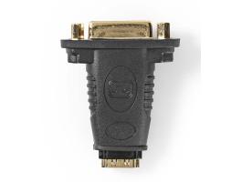 Nedis HDMI - DVI-adapter HDMI-aljzat - DVI-D 24+1 tus Aljzat Fekete (CVGP34911BK)