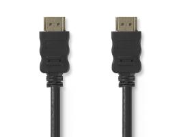 Nedis HDMI v1.4 kábel  15m Fekete (CVGT34000BK150)