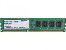Patriot 4GB 1600MHz Signature CL11 DDR3 memória