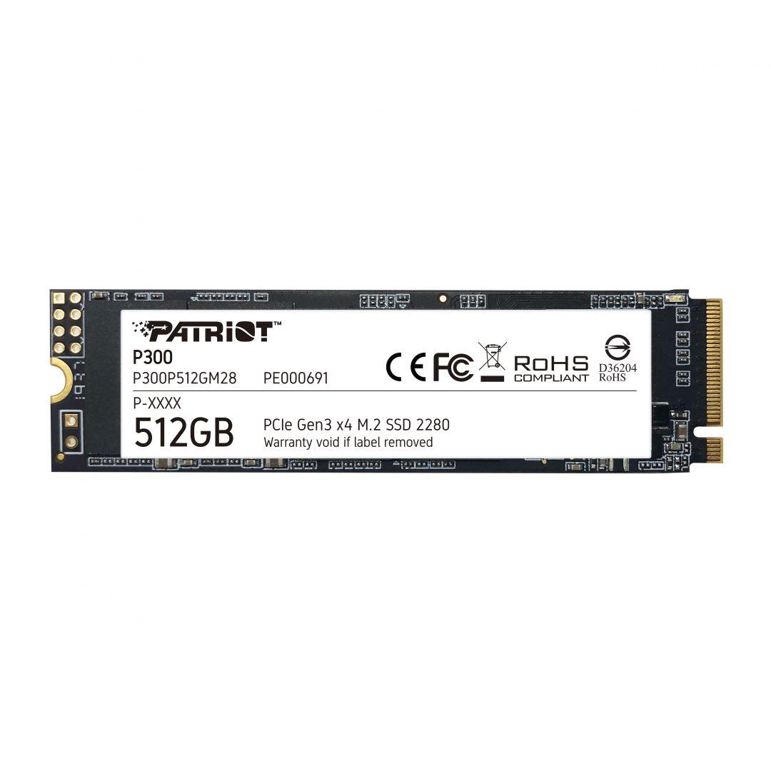 Patriot 512GB M.2 2280 NVMe P300 P300P512GM28 (P300P512GM28)