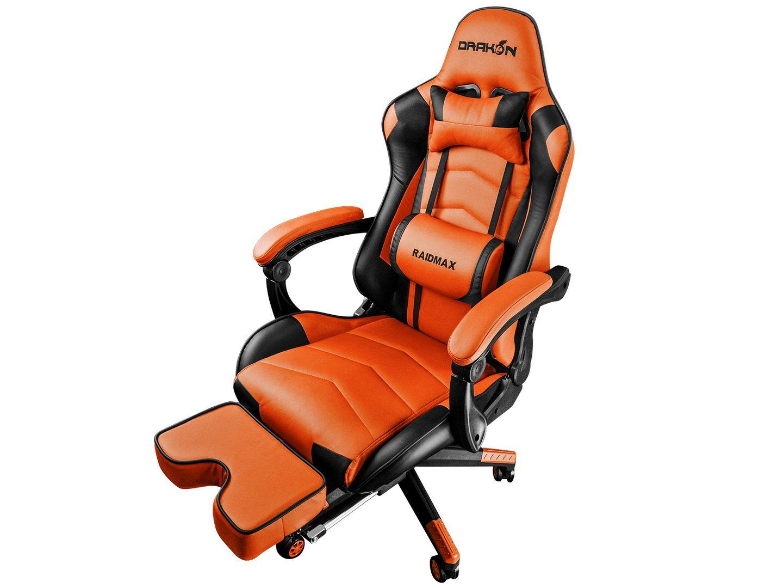 RaidMax Drakon DK709 Gaming Chair Black/Orange (DK709OG)