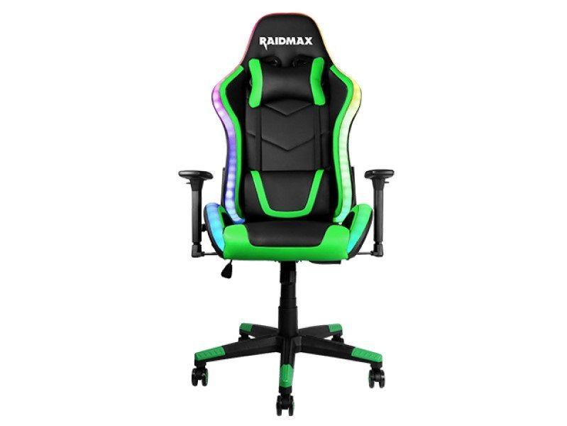 RaidMax Drakon DK925 ARGB Gaming Chair Black/Green (DK925GR)