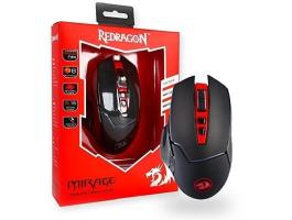 Redragon Mirage Wireless fekete gaming egér