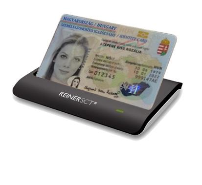 Reiner CyberJack RFID basis e-személyi igazolvány olvasó (CYBERJACK RFID BS)