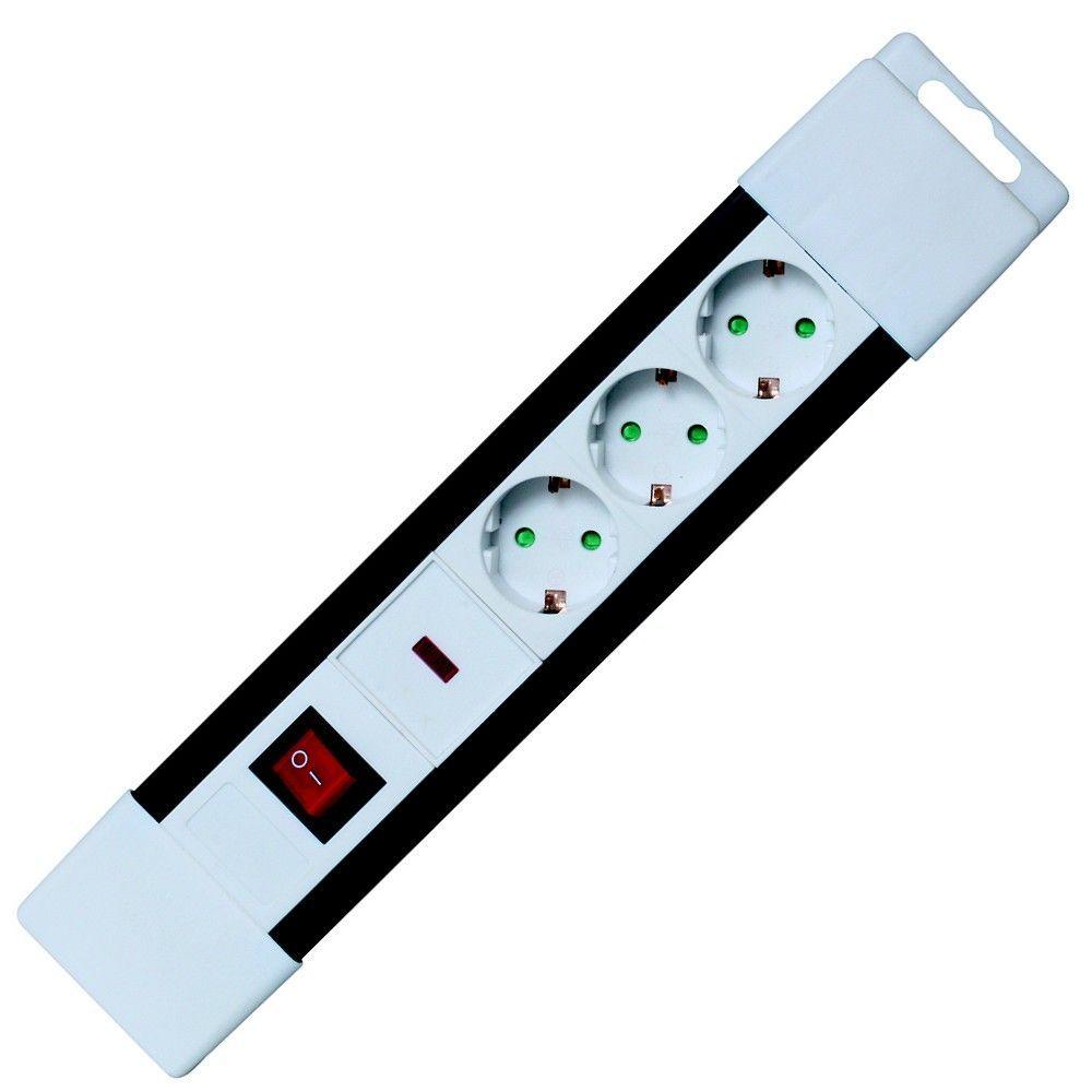 SAL NVP 03K/WH Túlfeszültségvédett hálózati elosztó 2m White (NVP 03K/WH)