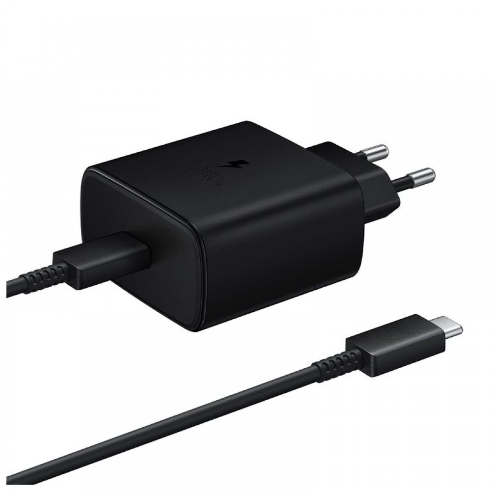 Samsung 45W Type-C Wall Charger Black (EP-TA845XBEG)