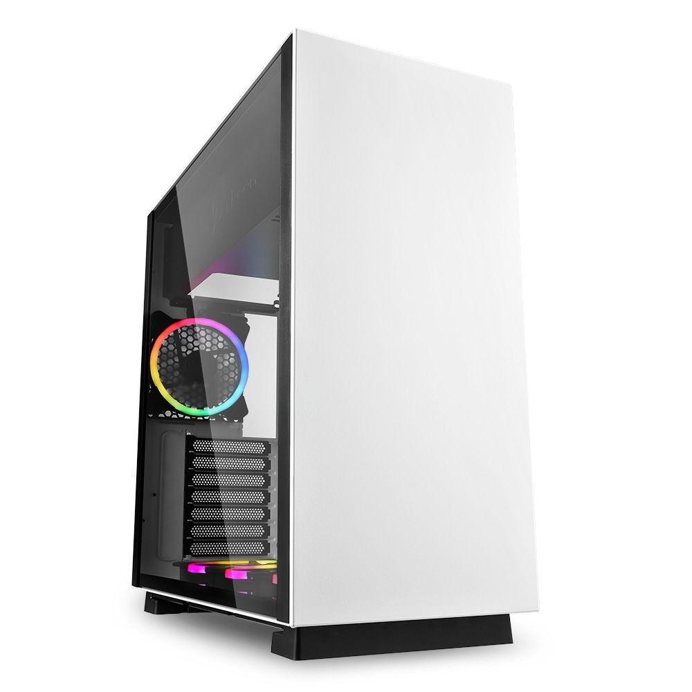 Sharkoon PureSteel RGB Window White (4044951027460)