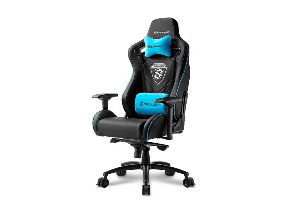 Sharkoon Skiller SGS4 Black/Blue  (4044951021710)