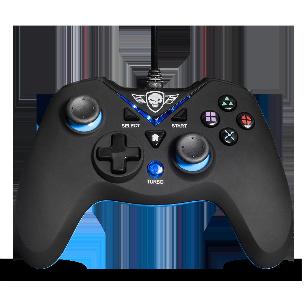 Spirit Of Gamer XGP USB Gamepad Black/Blue (SOG-WXGP)