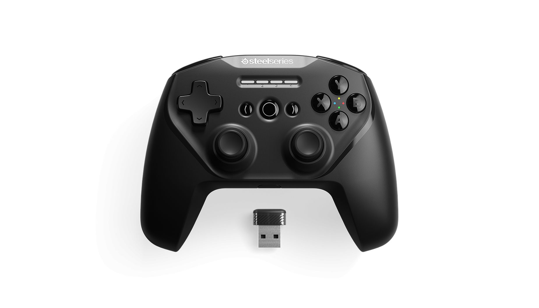 Steelseries Stratus Duo Bluetooth/Wireless Black (69075)