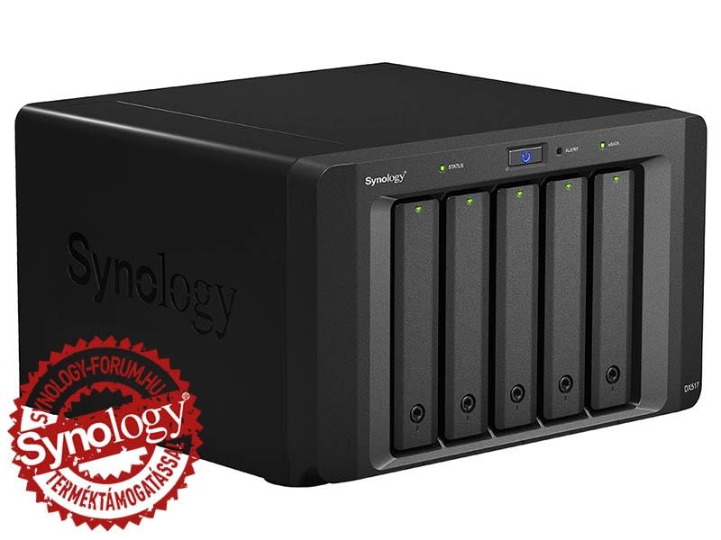 Synology NAS DX517 (5 HDD) HU (DX517)