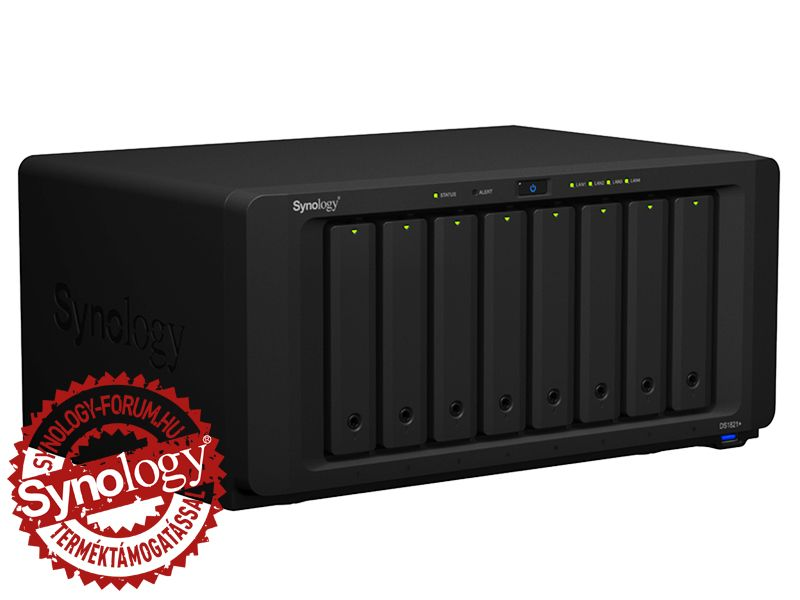Synology NAS DS1821+ (4GB) (8 HDD) HU (DS1821+)