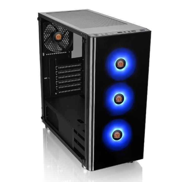 Thermaltake V200 Tempered Glass RGB Edition Black (CA-1K8-00M1WN-01)