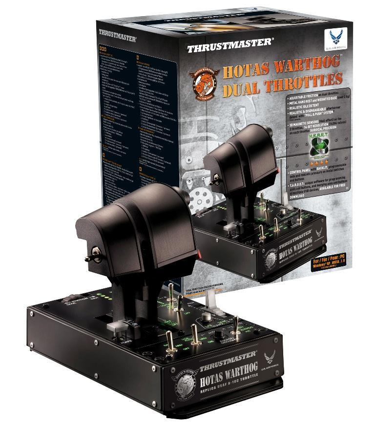 Thrustmaster Hotas Warthog Dual Throttle (2960739)