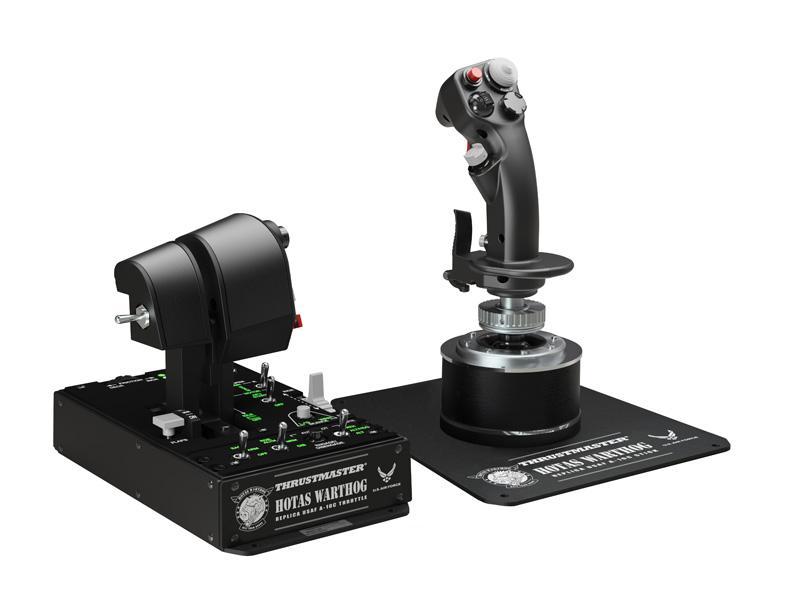 Thrustmaster Hotas Warthog USB Joystick és Gázkar Black (2960720)