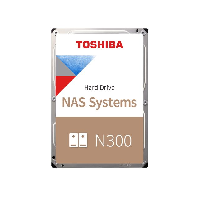 Toshiba 10TB 7200rpm SATA-600 256MB N300 HDWG11AEZSTA BOX (HDWG11AEZSTA)