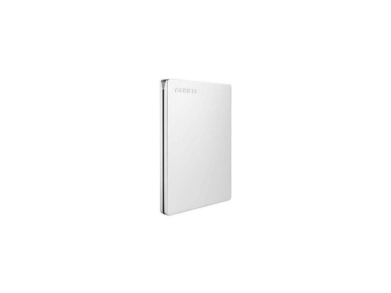 Toshiba 1TB 2,5 CANVIO SLIM USB3.0 Silver (HDTD310ES3DAU)