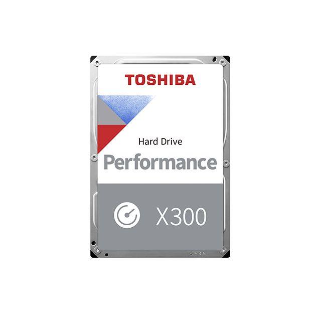 Toshiba 8TB 7200rpm SATA-600 256MB X300 HDWR480EZSTA BOX (HDWR480EZSTA)