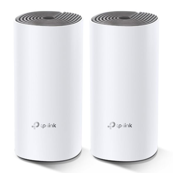 TP-Link Deco E4 AC1200 Whole Home Mesh Wi-Fi System (2 Pack) (DECOE4(2P))