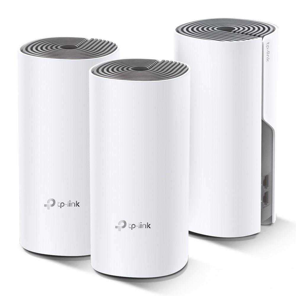 TP-Link Deco E4 AC1200 Whole Home Mesh Wi-Fi System (3 Pack) (DECO E4(3-PACK))