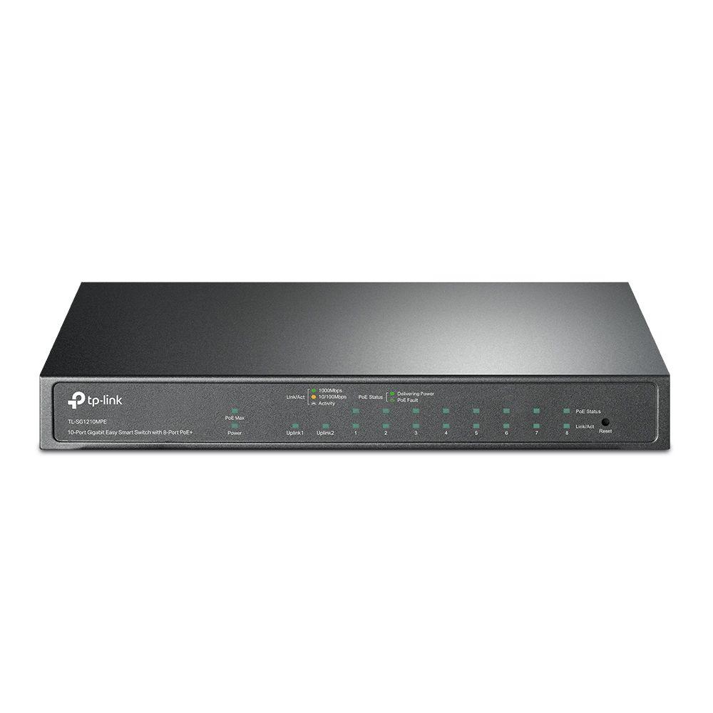TP-Link TL-SG1210MPE 10-Port Gigabit Easy Smart Switch (TL-SG1210MPE)