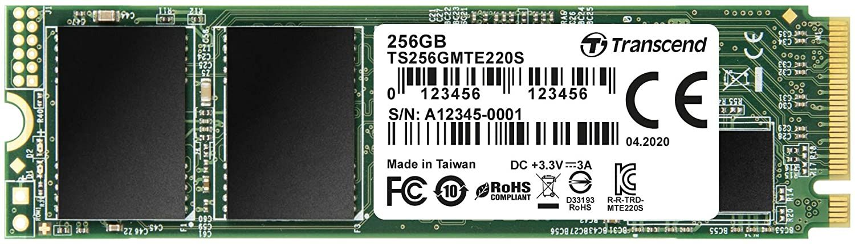 Transcend 256GB M.2 2280 NVMe TS256GMTE220S (TS256GMTE220S)