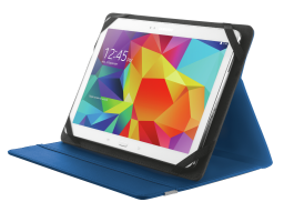Trust Primo Folio Case with Stand for 10 tablets Blue (20315)