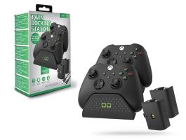 Venom VS2881 Twin Docking Station töltõállomás + 2 db akkumulátor - Xbox Series X/S/One - fekete