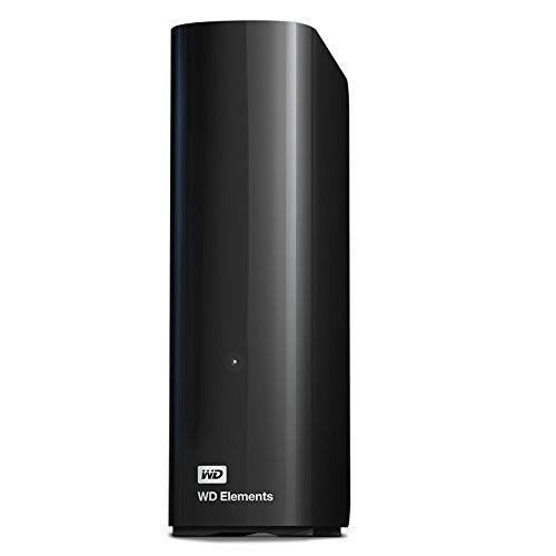 Western Digital 10TB 3,5 Elements Desktop Black USB 3.0 WDBWLG0100HBK-EES (WDBWLG0100HBK-EESN)