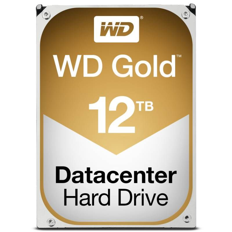 Western Digital 12TB 7200rpm SATA-600 256MB Gold WD121KRYZ (WD121KRYZ)