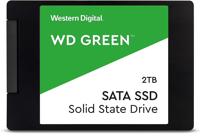 Western Digital 2TB 2,5 SATA3 Green Series WDS200T2G0A (WDS200T2G0A)