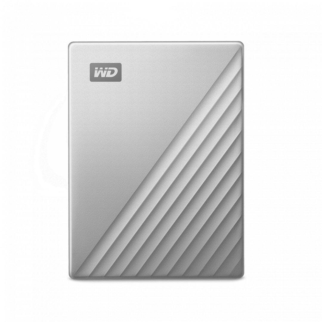 Western Digital 4TB 2,5 My Passport Ultra for Mac Silver/Black USB3.0 WDBPMV0040BSL (WDBPMV0040BSL-WESN)