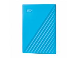 Western Digital 4TB 2,5 My Passport USB3.2 Blue külsõ HDD (WDBYVG0040BBL)