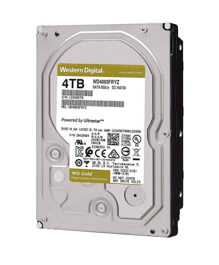 Western Digital 4TB 7200rpm SATA-600 256MB Gold WD4003FRYZ (WD4003FRYZ)