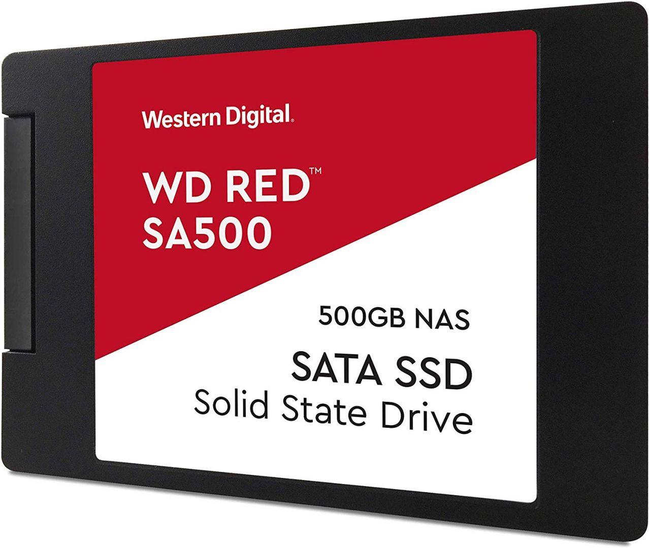 Western Digital 500GB 2,5 SATA3 SA500 NAS Red (WDS500G1R0A)