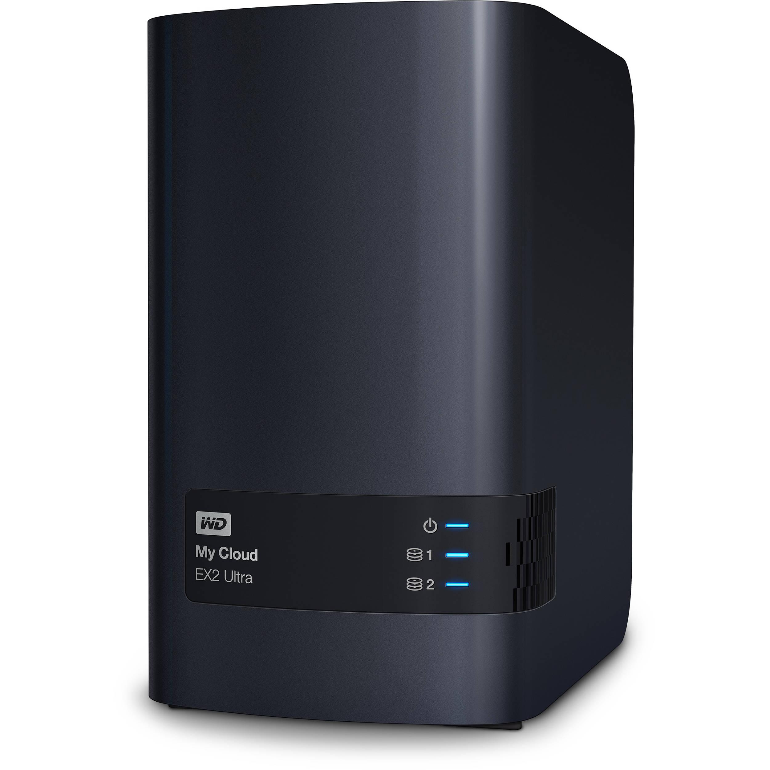 Western Digital My Cloud EX2 Ultra USB3.0 (2 HDD) (WDBVBZ0000NCH-EESN)