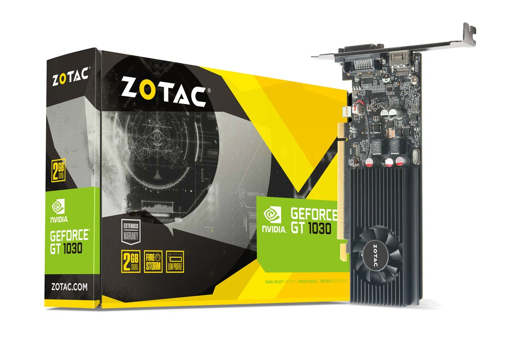 Zotac GeForce GT1030 2GB DDR5 (ZT-P10300E-10L)