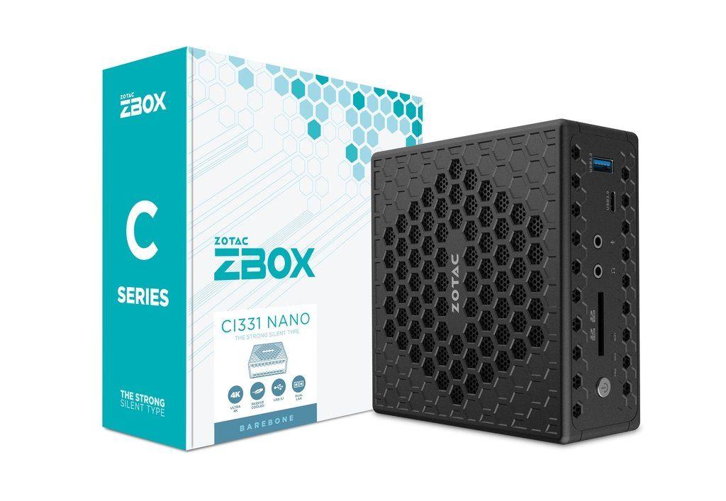 Zotac ZBOX-CI331NANO-BE Black (ZBOX-CI331NANO-BE)